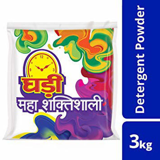 Picture of Ghadi Detergent Powder (3kg) Packet
