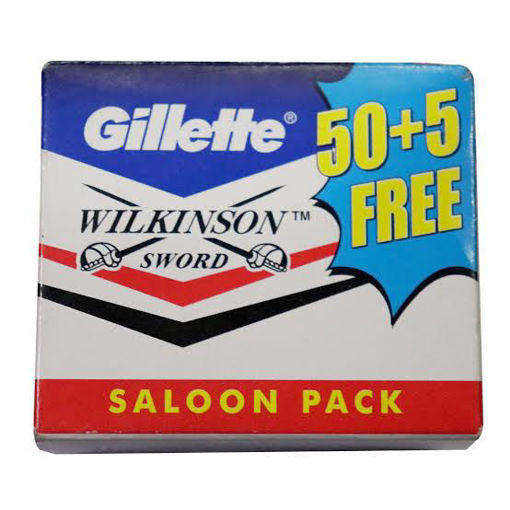 Picture of Gillette WILKINSON SWORD SALOON PACK 50+5 Free