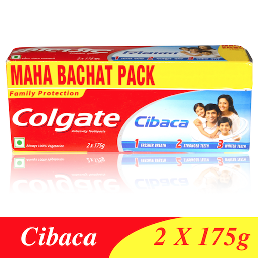 Picture of Colgate Cibaca MAHA BACHAT Anticavity Toothpaste (175gX2)
