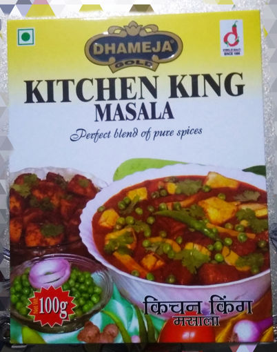 Picture of Dhameja kitchen King Masala (100g) Packet