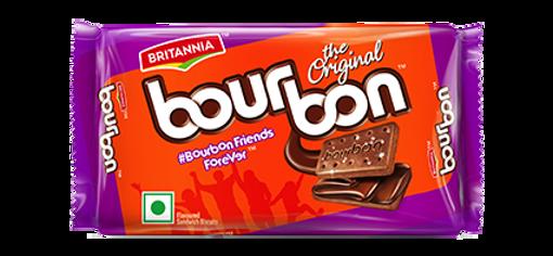 Picture of BRITANNIA Bourbon Cream Biscuit Chocolate Flavor (60g)