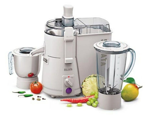 Picture of Sujata Powermatic Plus 900-Watt Juicer Mixer Grinder (White)