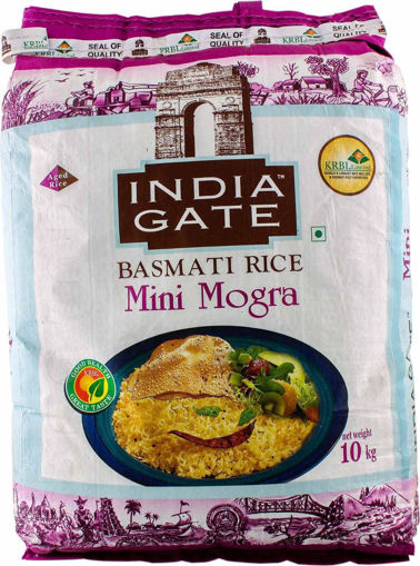 Picture of INDIA GATE BASMATI RICE Mini Mogra (10kg) Packet
