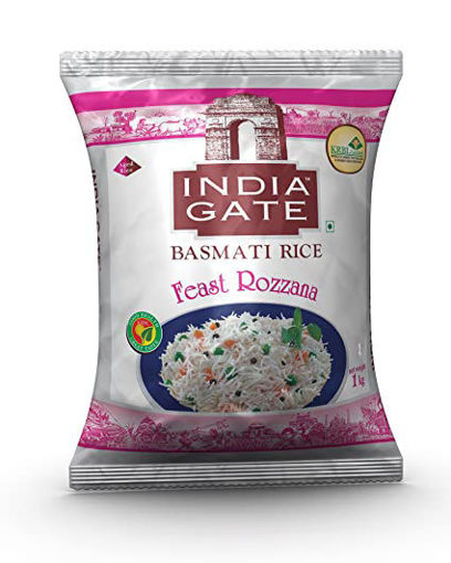 Picture of INDIA GATE BASMATI RICE Feast Rozzana (1kg) Packet