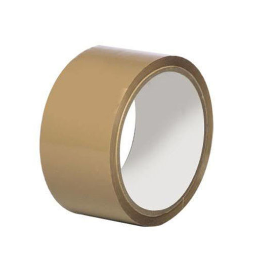 Picture of Bopp Brown Pvc Packaging Tape (20mtr)