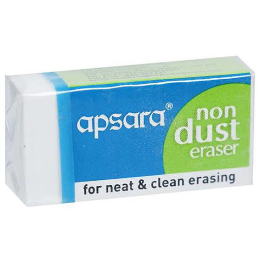 Picture of Apsara Non Dust Eraser (33 mm x 17 mm x 10 mm), 1Pc