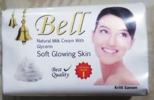 Picture of Bell Natural Milk Cream With Glycerin Soap (59g)