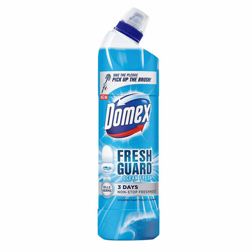 Picture of Domex Fresh Guard Ocean Fresh Disinfectant Toilet Cleaner (500ml)