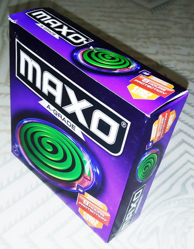 Picture of Maxo A Grade Mosquito Coil - 14 N (Green)