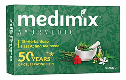 Picture of Medimix Ayurvedic Classic 18 Herbs Soap (75g)