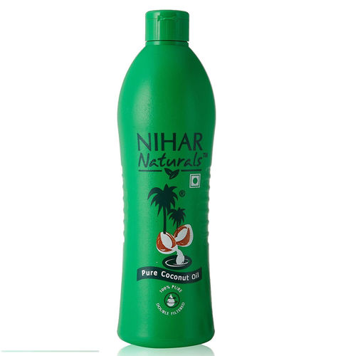 Picture of Nihar Naturals Coconut hair oil 91.0g (100ml) Bottal