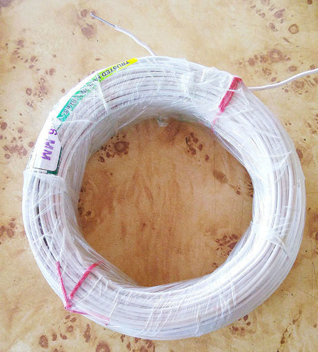 Picture of Aluminium Wire White (500g) Bandal