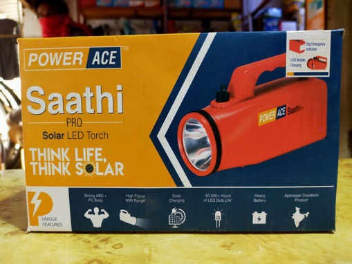 Picture of SAATHI POWER ACE PRO NANO KISAN TORCH RECHARGEABLE TORCH