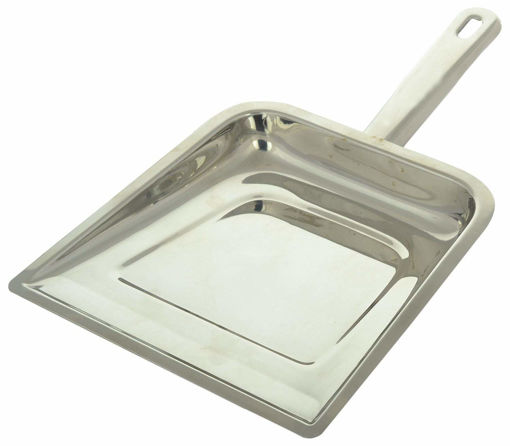 Picture of BEST QUALITY MARC CLEANING PRODUCTS Stainless Steel dust pan, Standard, Silver