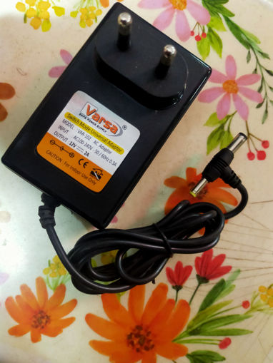 Picture of Adaptor DC 12V-2Amp SMPS Power Supply For Set Top Box, Tablet, CCTV Camera, LED Boards, LED Strips, Solar Light, ADSL Modem, Laptop DVD SCreen, TV Tuner Card, Cordless Phone , Weighting Scale, LCD Monitor, Scanners, Disk Man, Wll Phones, Printers, Electronics & IT Gagets, All Adeptor