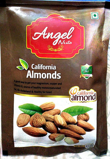 Picture of Angel California Almonds Badam (250g) Packed