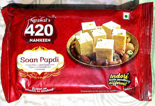 Picture of Agrawal's 420 Soan Papdi (200g)