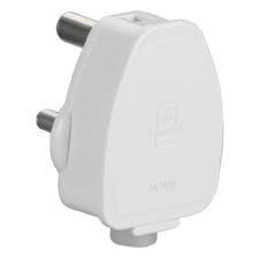 Picture of Anchor Penta 3 Pin Plug Top (White, 240 V, 6 A)