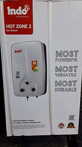 Picture of Indo ISI Hot Zone Gas Geyser (White, 7 L)