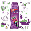 Picture of Fiama Shower Gel, Blackcurrant and Bearberry (100ml) with Loofah free