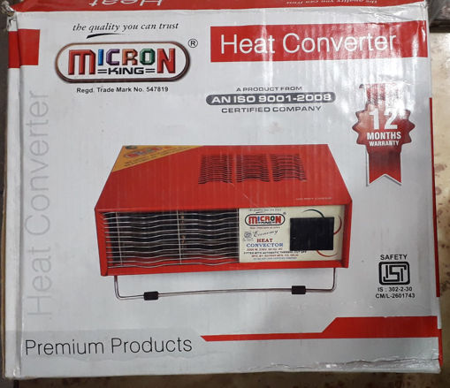 Picture of MICRON King Heat Converter Room Heater (1 Year Warranty)
