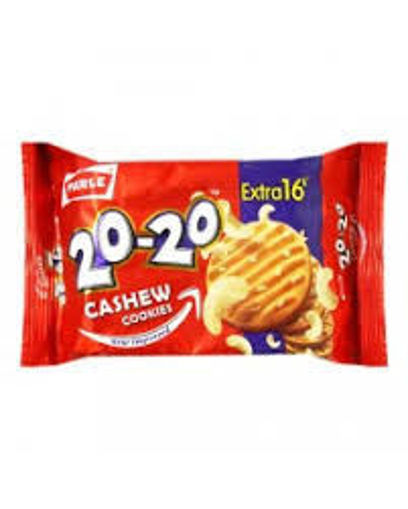 Picture of PARLE 20-20 CASHEW COOKIES Biscuits (70g)