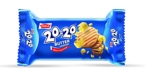 Picture of PARLE 20-20 Butter COOKIES Biscuits (80g) Packet