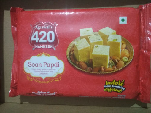 Picture of Agrawal's 420 Soan Papdi (500g)