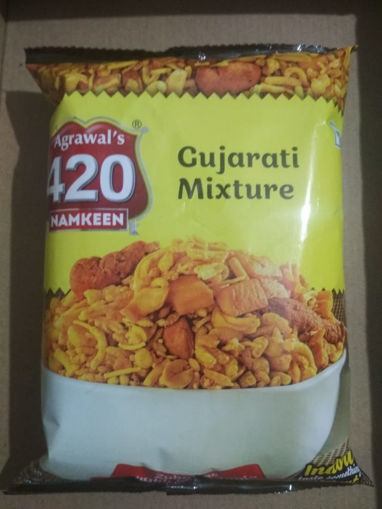 Picture of Agrawal's 420 Namkeen GUJRATI  MIXTURE (150g)