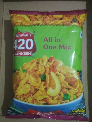 Picture of Agrawal's 420 Namkeen ALL In One MIX (150g)