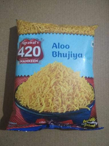 Picture of Agrawal's 420 Namkeen Aloo Bhujiya (45g)