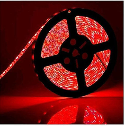 Picture of Non Waterproof LED SMD Strip Light with Driver 12V DC 5 metres Red