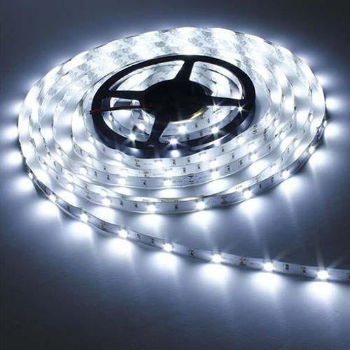Picture of Non Waterproof LED SMD Strip Light with Driver 12V DC 5 metres White