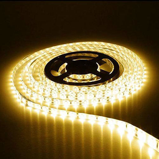 Picture of Non Waterproof LED SMD Strip Light with Driver 12V DC 5 metres warm white