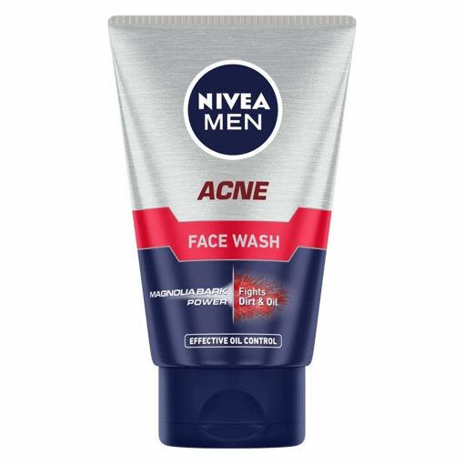 Picture of Nivea Men Acne Face Wash, 100g