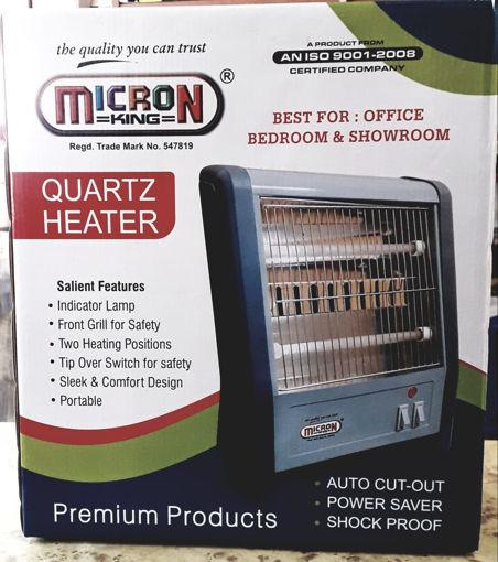 Picture of MICRON King QUARTZ HEATER Halogen Room Heater  BEST FOR : OFFICE BEDROOM & SHOWROOM