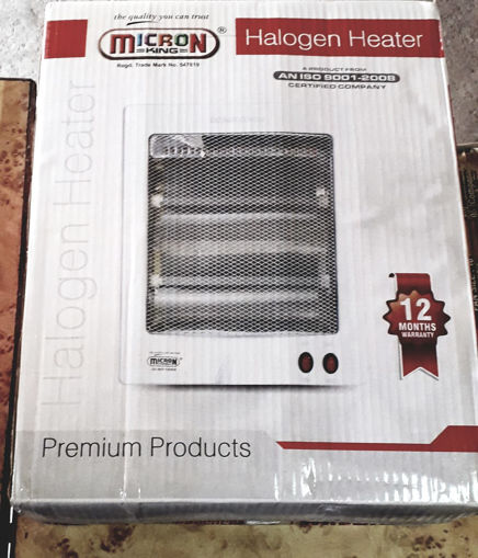 Picture of MICRON King Halogen Room Heater  BEST FOR : OFFICE BEDROOM & SHOWROOM