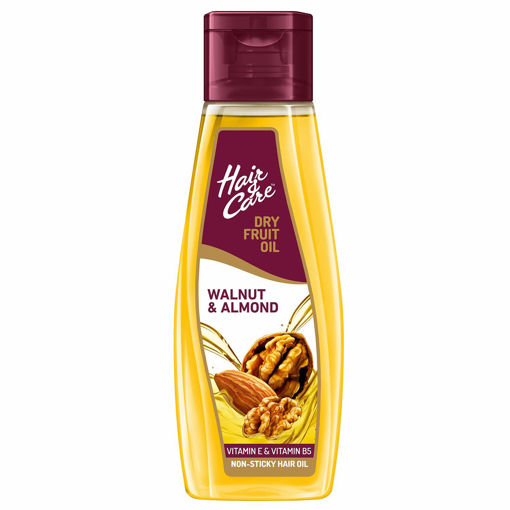 Picture of Hair & Care Dry Fruit Oil with Walnut and Almond 500 ml (Non-Sticky Hair Oil)