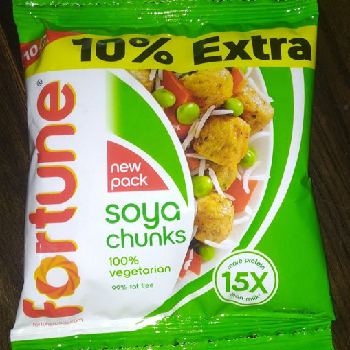 Picture of Fortune SOYA Chunks Bari, 49.5g Packet