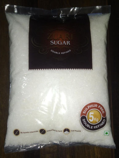 Picture of ZUARI Sugar, Sulphur Free, Double Refined (5 Kg)