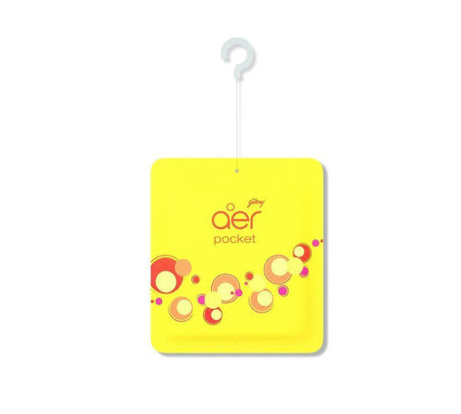 Picture of Godrej aer pocket,Bathroom Air Fragrance - Bright Tangy Delight (10g)