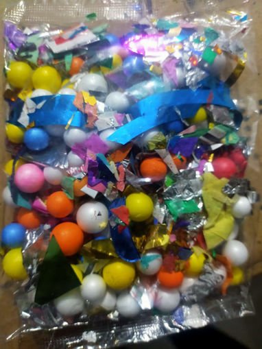 Picture of Thermocol bubbles craft flower Goli Packet