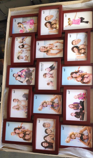 Picture of ARCHIES PHOTO FRAME Wooden Color, Pack Of 15 Frame