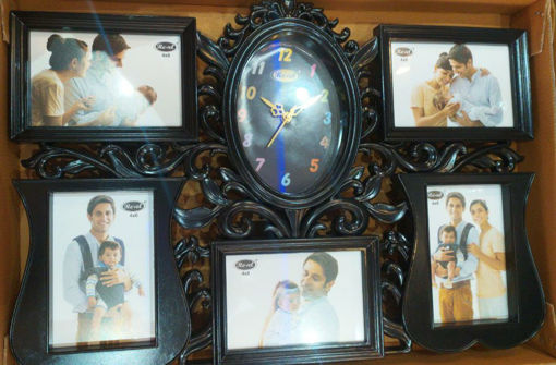 Picture of Revel Gift article 5 Photo Frame with Clock