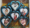 Picture of Relation Gift Just between You & Me 5 Photo Frame With Wall Watch Clock