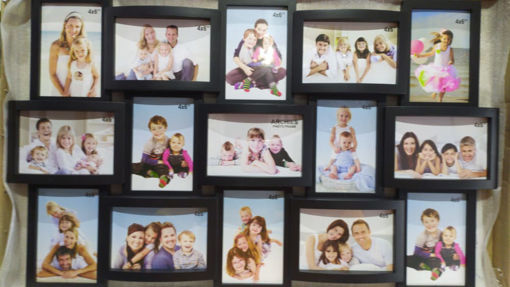 Picture of ARCHIES PHOTO FRAME Black Color, Pack Of 15 Frame