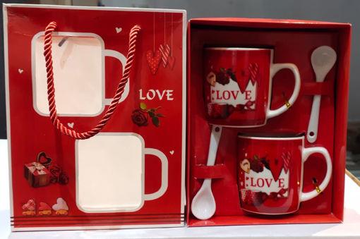 Picture of Coffee Love Mug, Couple Mug Set