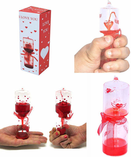 Picture of Gift I Love You, Love Meter and Tester NP Love Meter Valentine Special Hourglass Best Gift for Girlfriend, Boyfriend, Husband and Wife