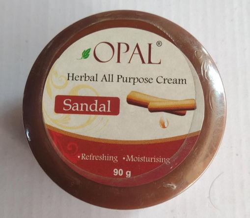 Picture of opal herbal all purpose cream sandal refreshing Moisturizing 90g