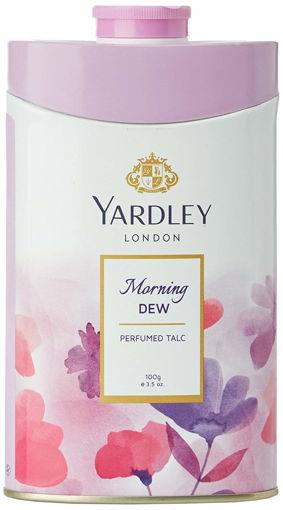 Picture of Yardley London Morning Dew perfumed talc powder 100g